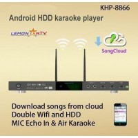 KHP-8866 ANDROID 6TB VIETNAMESE ENGLISH KARAOKE PLAYER WITH 57000+ SONGS 2 REMOTE