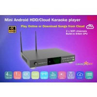 KHP-8816 ANDROID 6TB HARD-DRIVE VIETNAMESE ENGLISH KARAOKE PLAYER WITH 57000+ SONGS with REMOTE and books