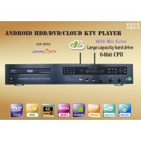 Lemon Android KTV KHP 8832 4K 6TB HDD 57000 Vietnamese English karaoke Player