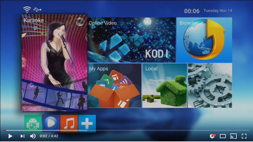 cloud download function for ktv-8878E karaoke machine
